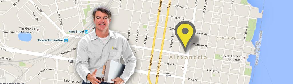 Alexandria service area