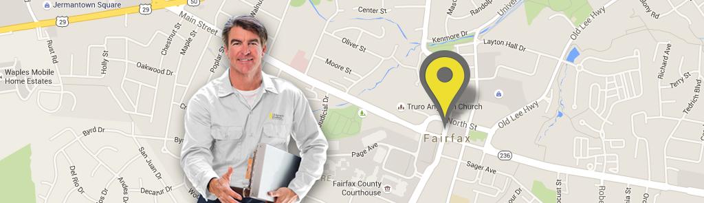 Fairfax service area