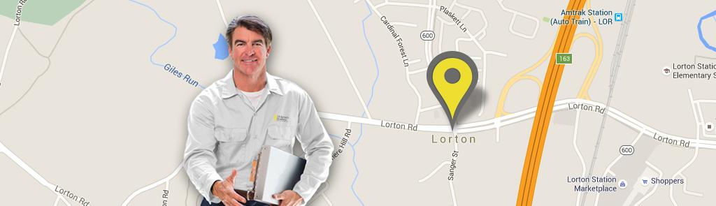 Lorton service area
