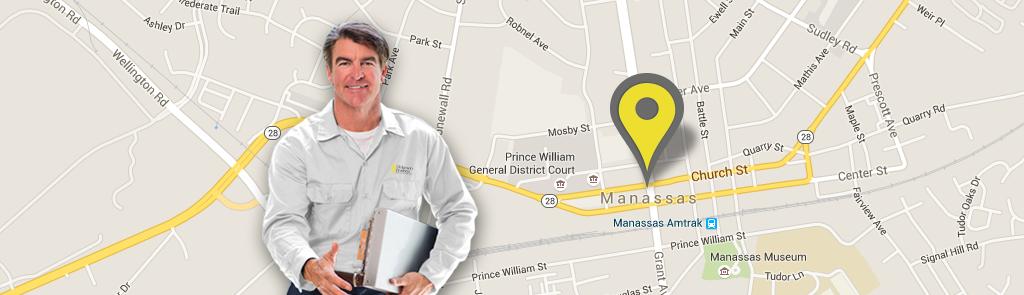Manassas service area