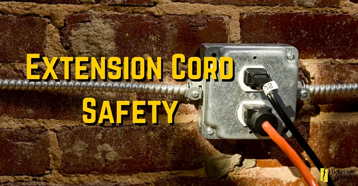 Electrical Cord Safety : Extension cord safety