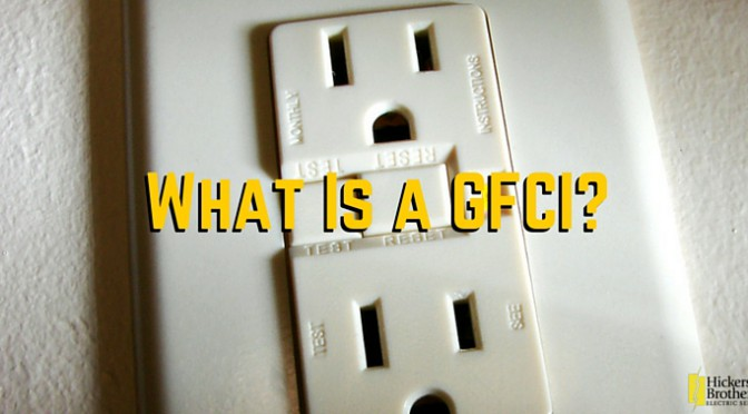 Ground Fault Circuit Interrupters GFCI
