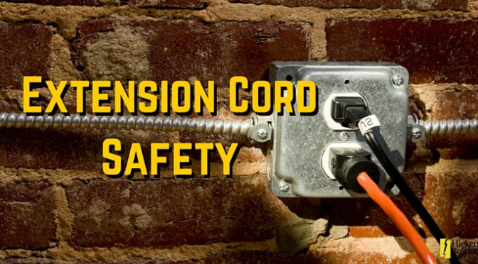 Electrical Extension Cord Safety