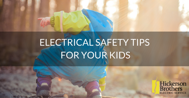 Electrical Safety Tips for Your Kids