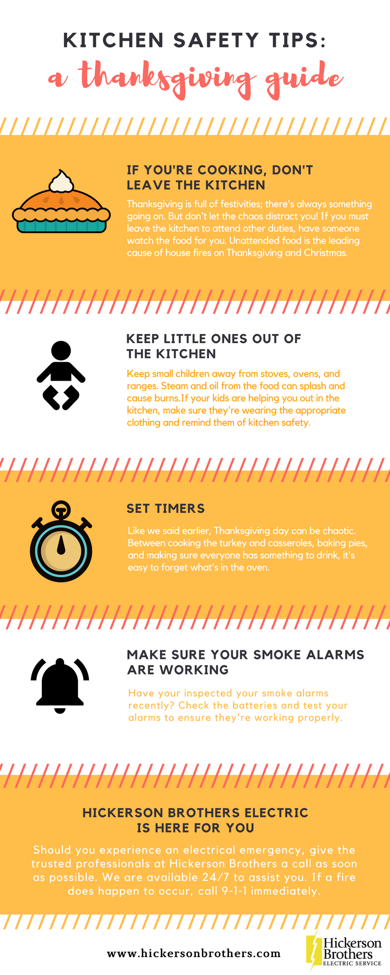 Kitchen Safety Tips: A Thanksgiving Guide - Hickerson